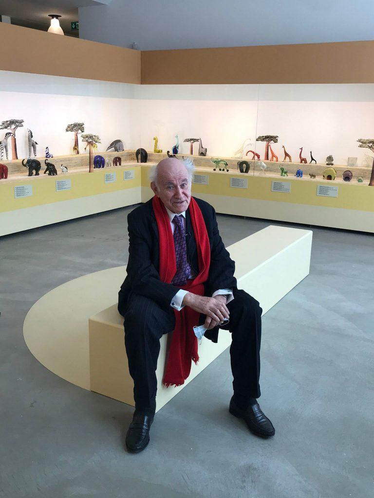 Pierre Rosenberg a Le Stanze del Vetro
