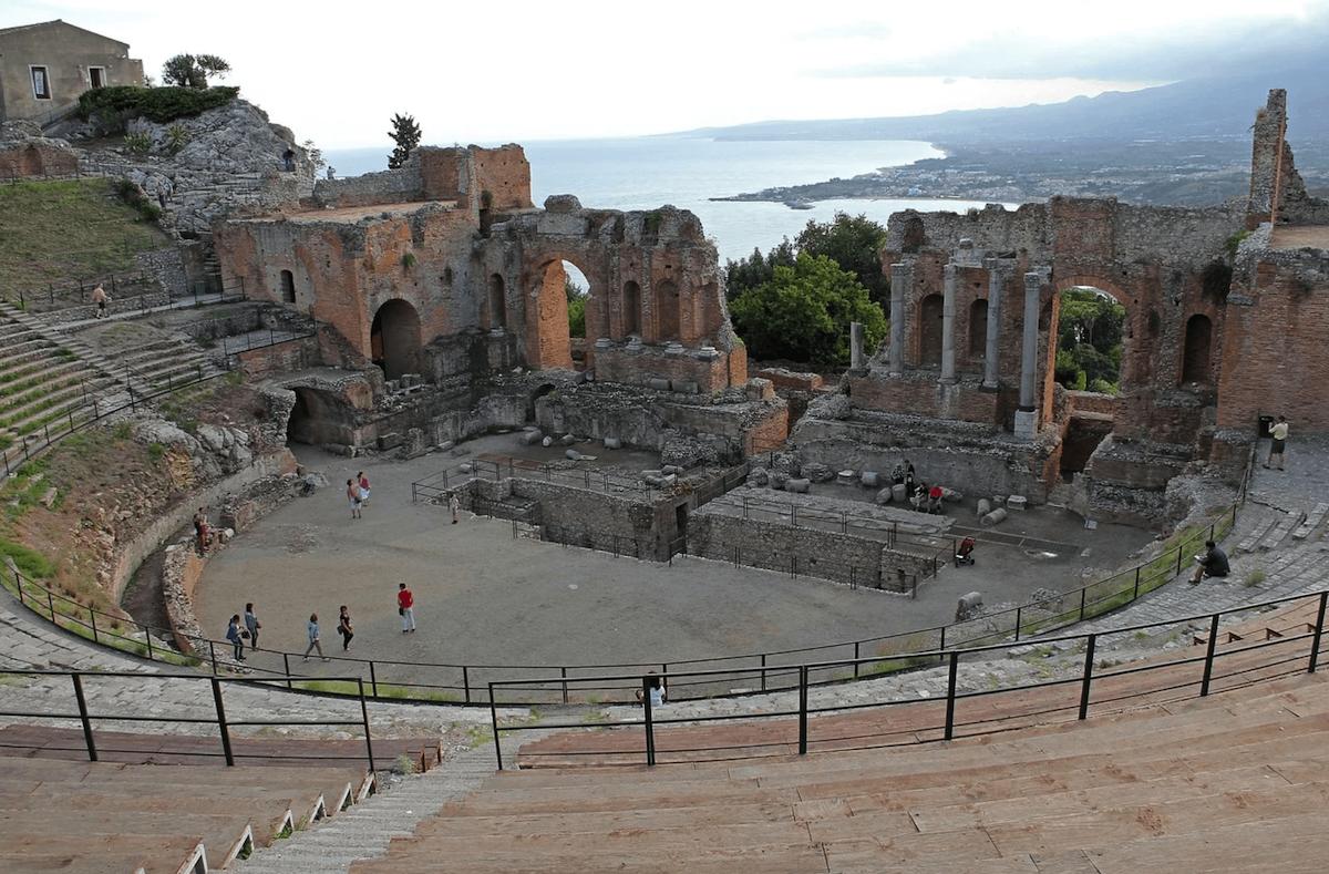 Pietro Consagra - Teatro Antico Taormina