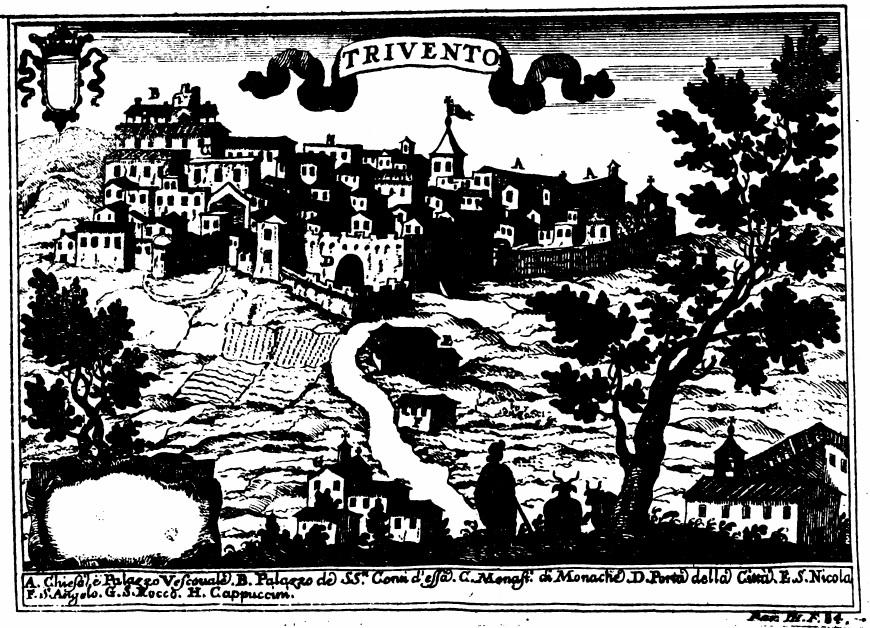 Trivento - Mappa storica