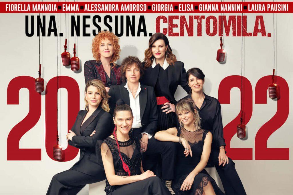 Laura Pausini - poster concerto Una.Nessuna.Centomila 11 giugno 2022