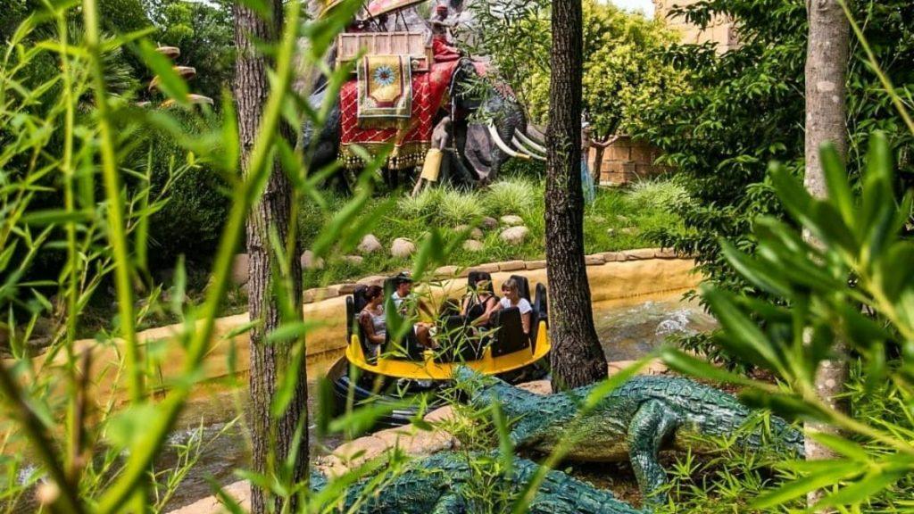 Gardaland - viaggio nella giungla