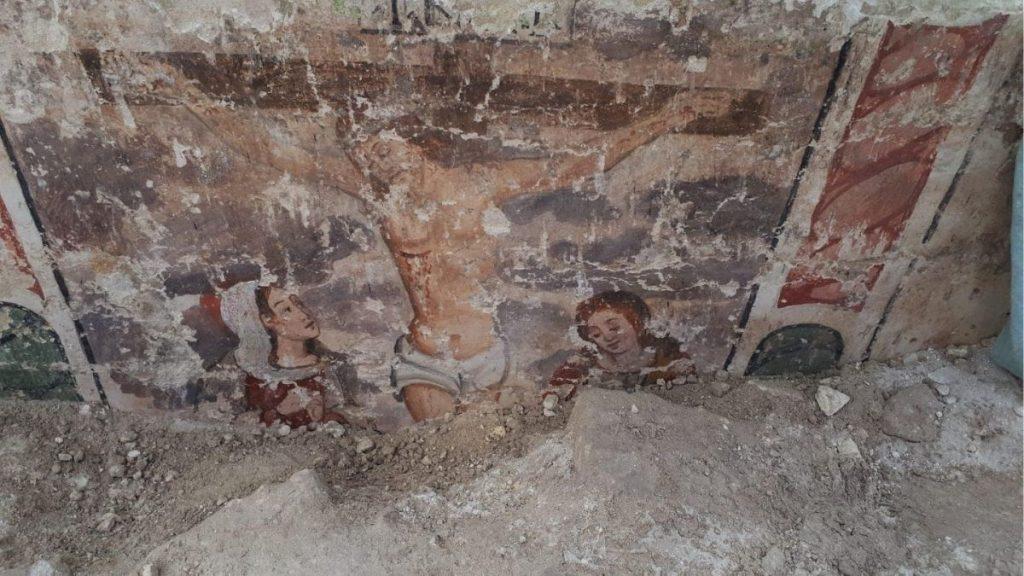 matera resti chiesa sant'eustachio