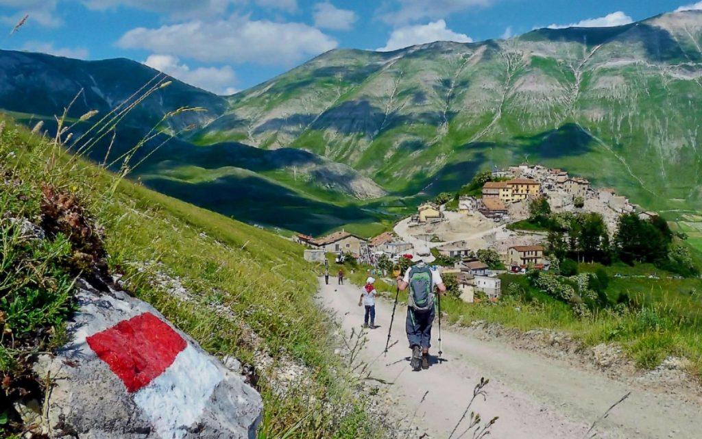 Sentiero dei Parchi - Il Sentiero dei Parchi ingloberà anche il già esistente Sentiero Italia