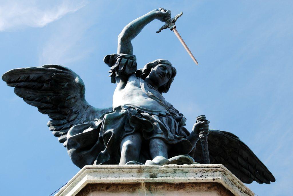 Castel Sant'Angelo, statua angelo - Roma