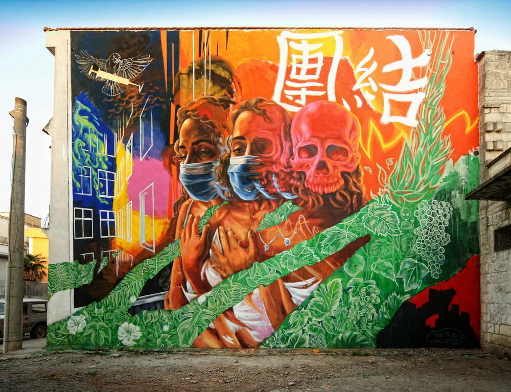 Stornara - Murales di Alaniz