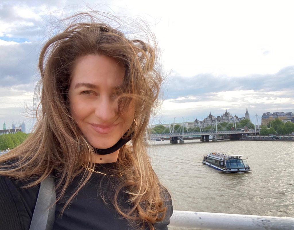 Barbara Panetta in London