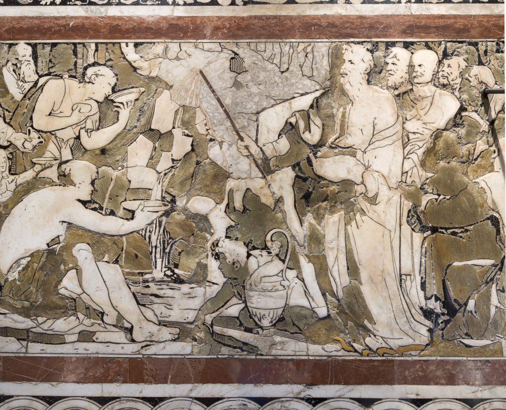 Beccafumi Mosè fa scaturire l'acqua dalla roccia