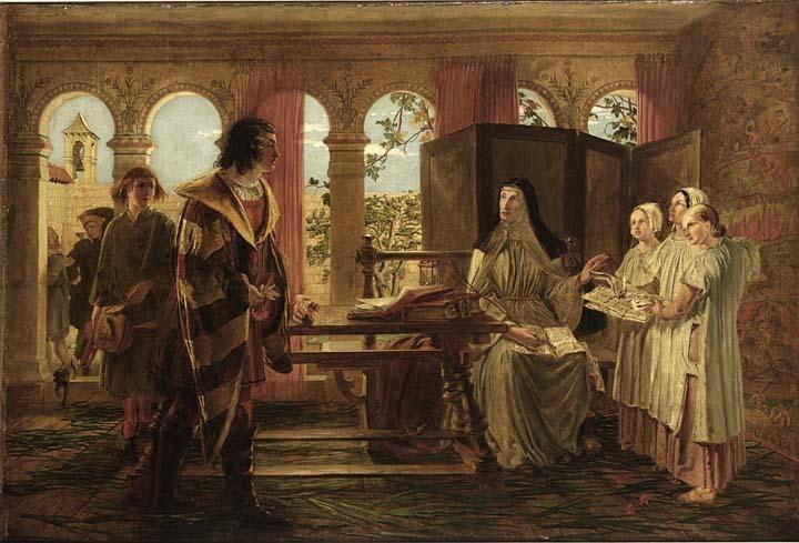 Boccaccio fa visita alla figlia di Dante