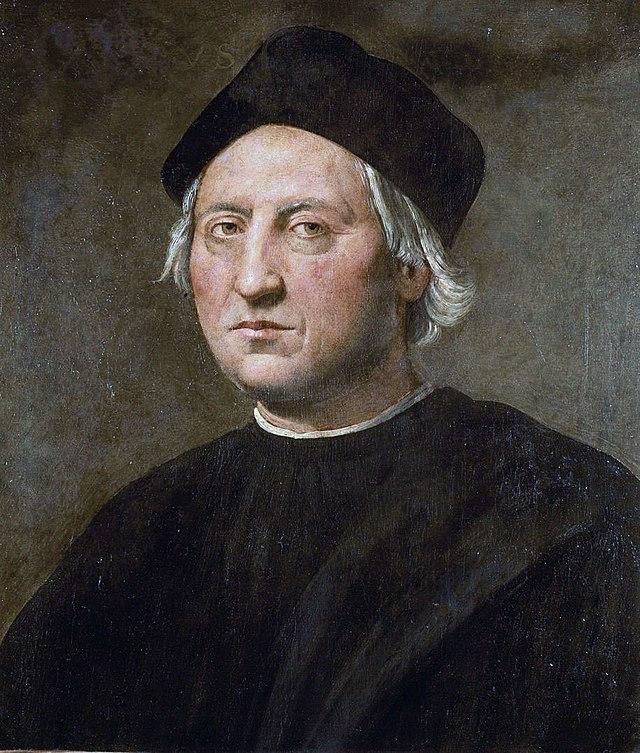 La spiaggia di Cumanà  - Cristoforo Colombo in un ritratto di Ridolfo del Ghirlandaio