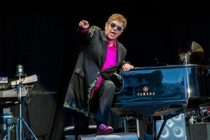 Elton John in concerto a Kristiansand (Norvegia) nel 2017