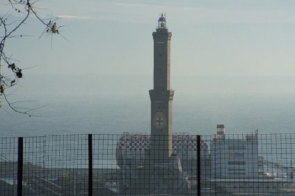 Veduta della Lanterna di Genova