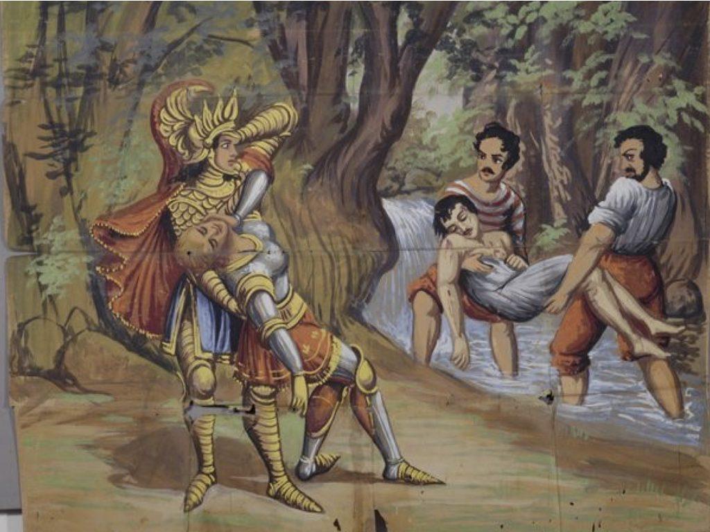 dipinto Collezione Muscà, Catalogo Cartelli