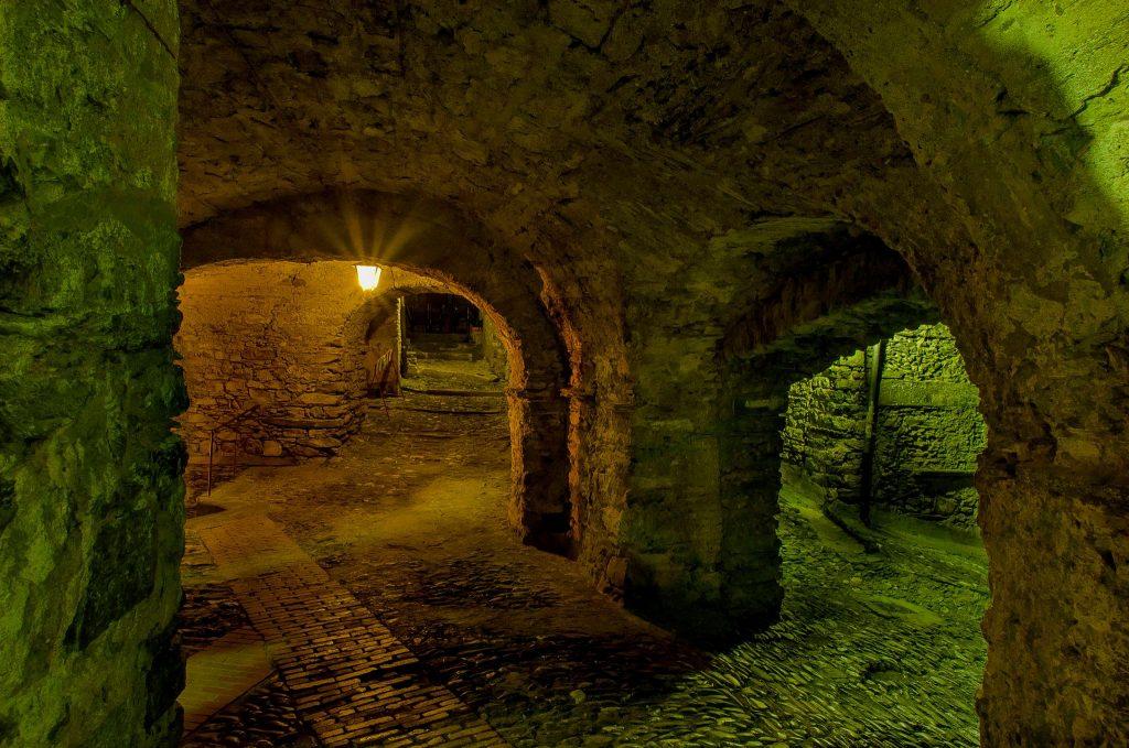 Triora - interno di un sotterraneo