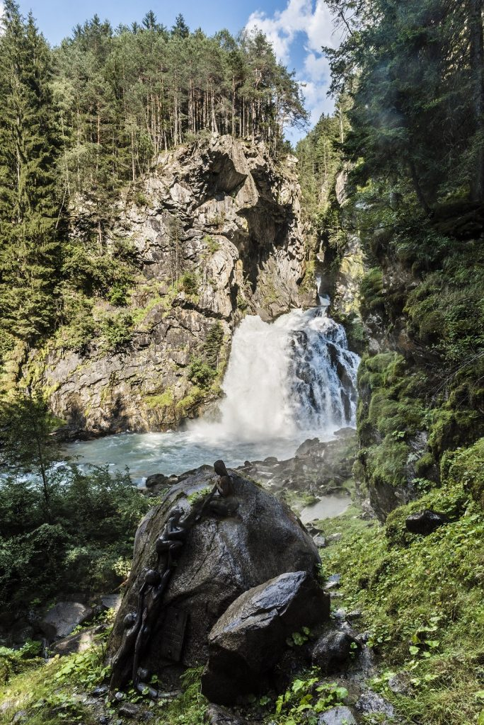 Valle Aurina - cascata