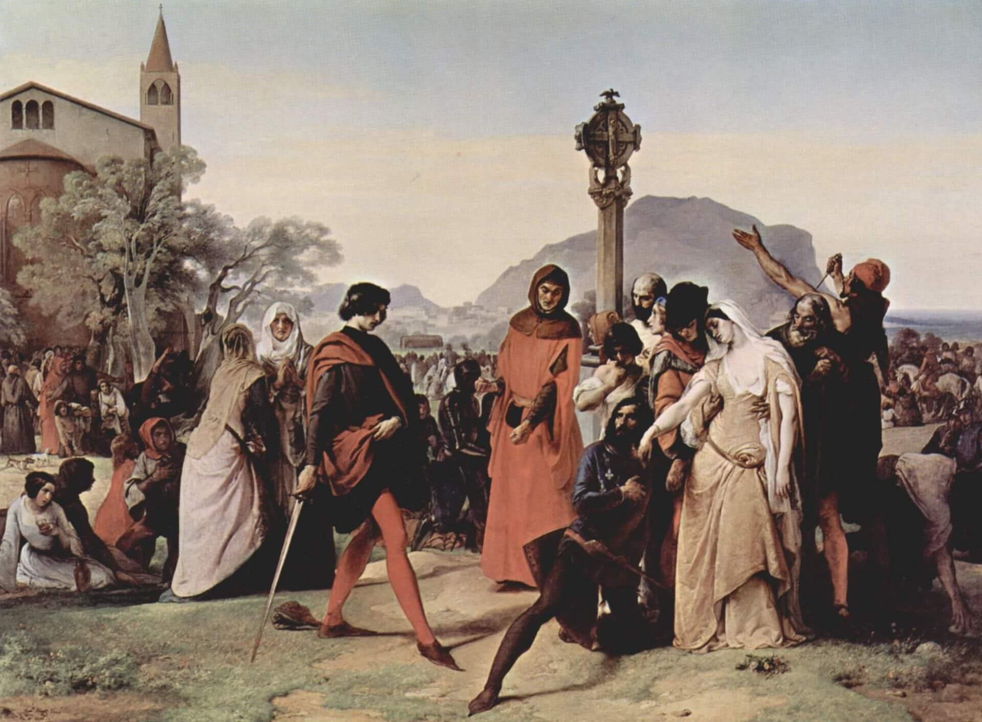 Sperlinga - I Vespri Siciliani (Francesco Hayez)