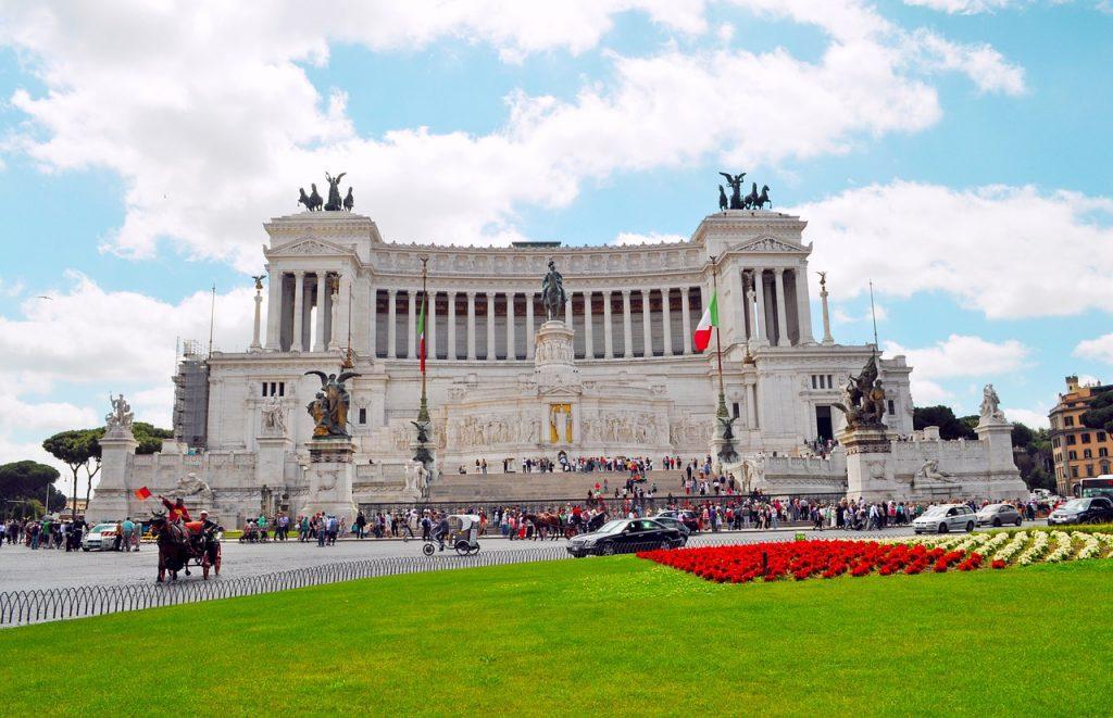 L'Altare della Patria, l'intero complesso monumentale