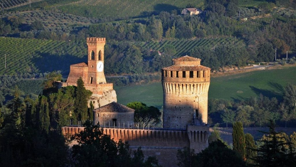 Brisighella - Panorama della Rocca di Brisighella