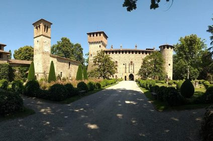 castello grazzano visconti-ingresso
