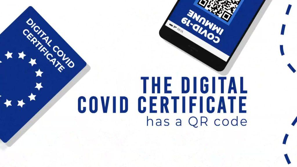 certificato covid digitale