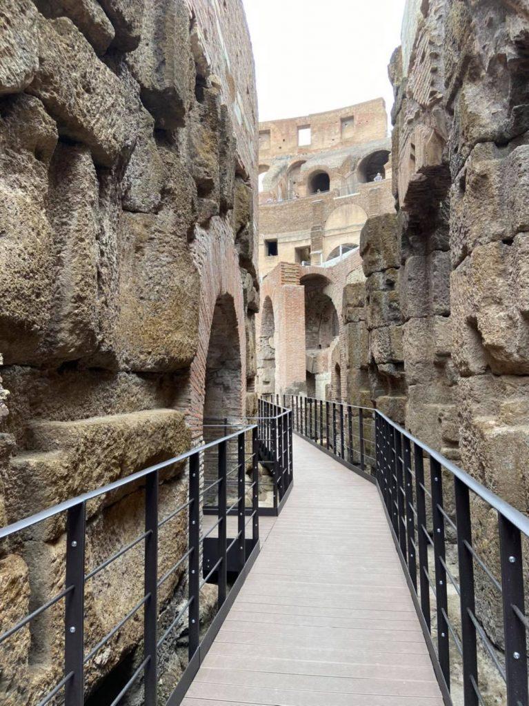 Ipogei del Colosseo - La nuova passerella