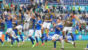 italia nazionale finale europei di calcio