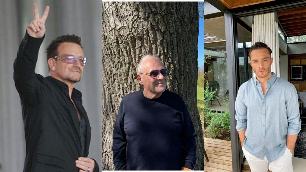 Bono Vox, Anthony Hopkins ed Ed Westwick