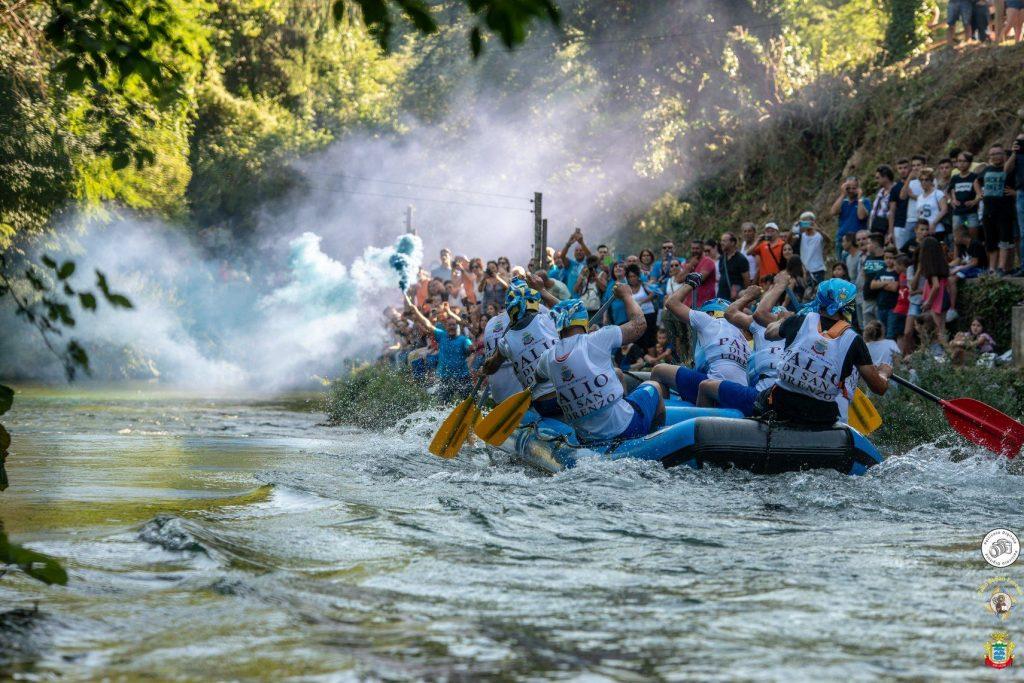 Subiaco, gara fiume Aniene