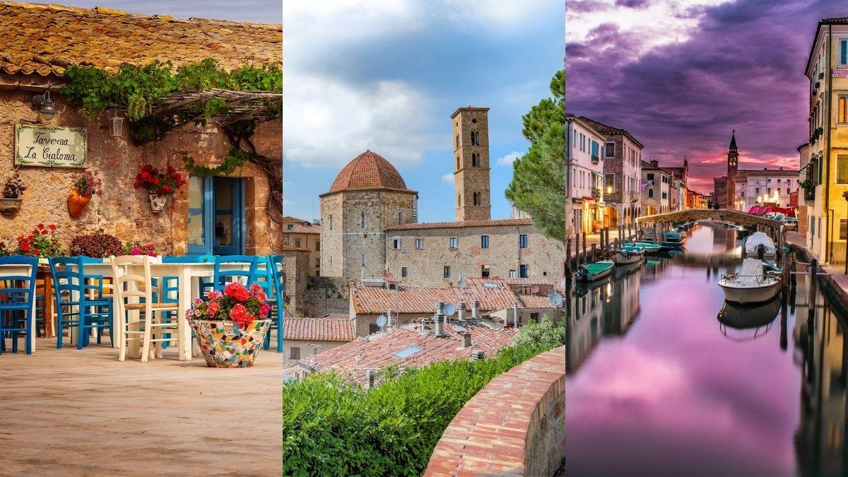 Venezia, la Sicilia e la Toscana