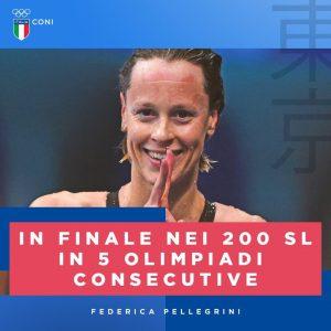 Federica Pellegrini immensa - la Pellegrini dopo il primato