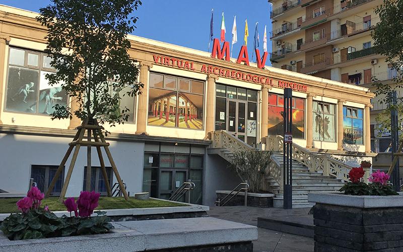 entrata del Mav, museo archeologico