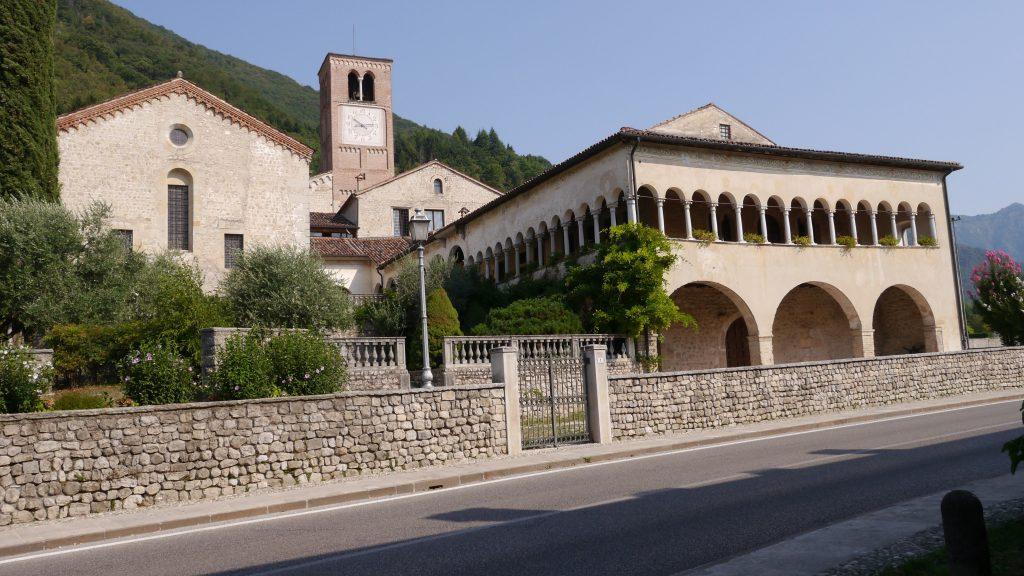 """Follina - Antica foresteria del monastero detto anche """"chiostrino dell'Abate"""""""