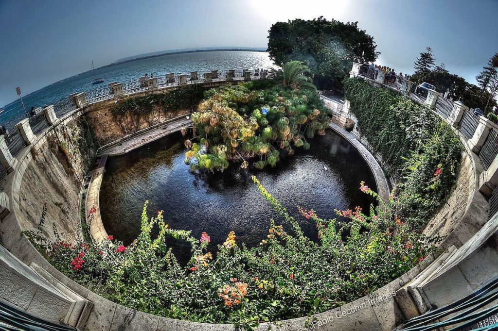 Grotta dei Cordari di Siracusa - Fonte Aretusa a Ortigia