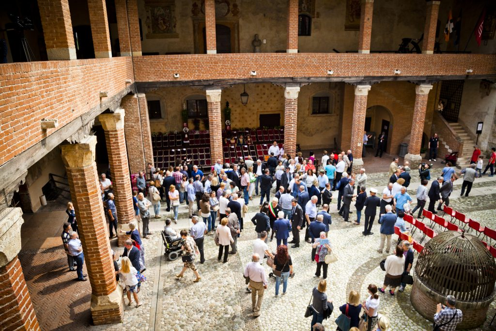interno castello di marostica
