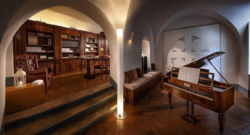 interno del Palazzo Seneca - Norcia