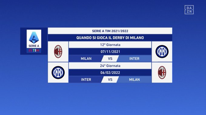 Serie A - Derby Milano