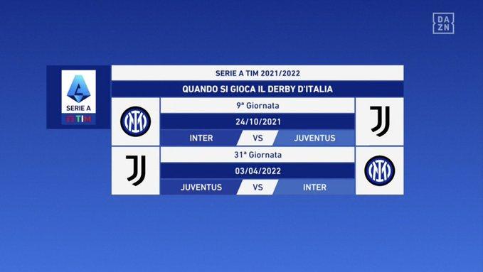 Serie A - Derby d'Italia