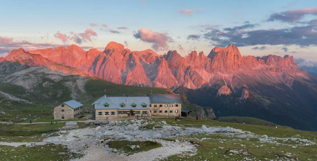 Monte Catinaccio - L'enrosadira sul Catinaccio