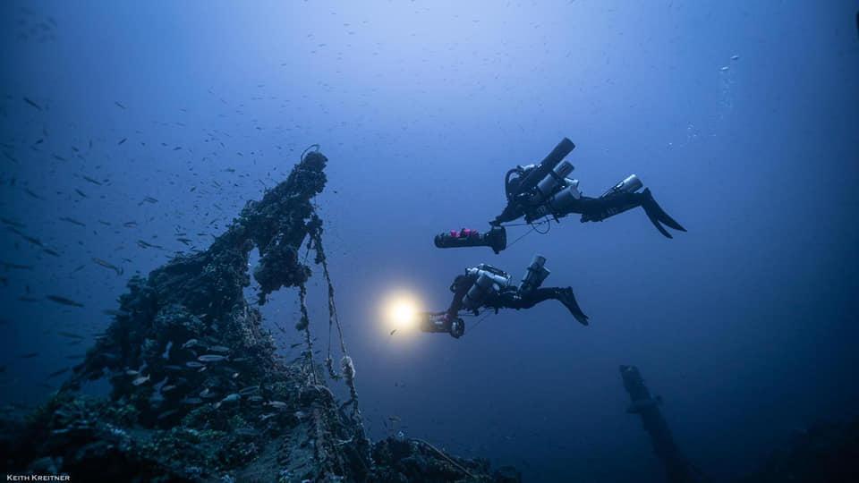 Nel mare di Lampedusa i reperti di un relitto