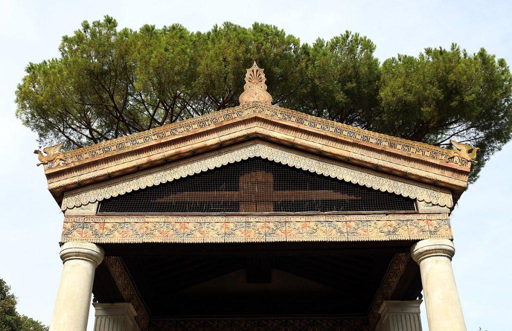 particolare tempio di alatri