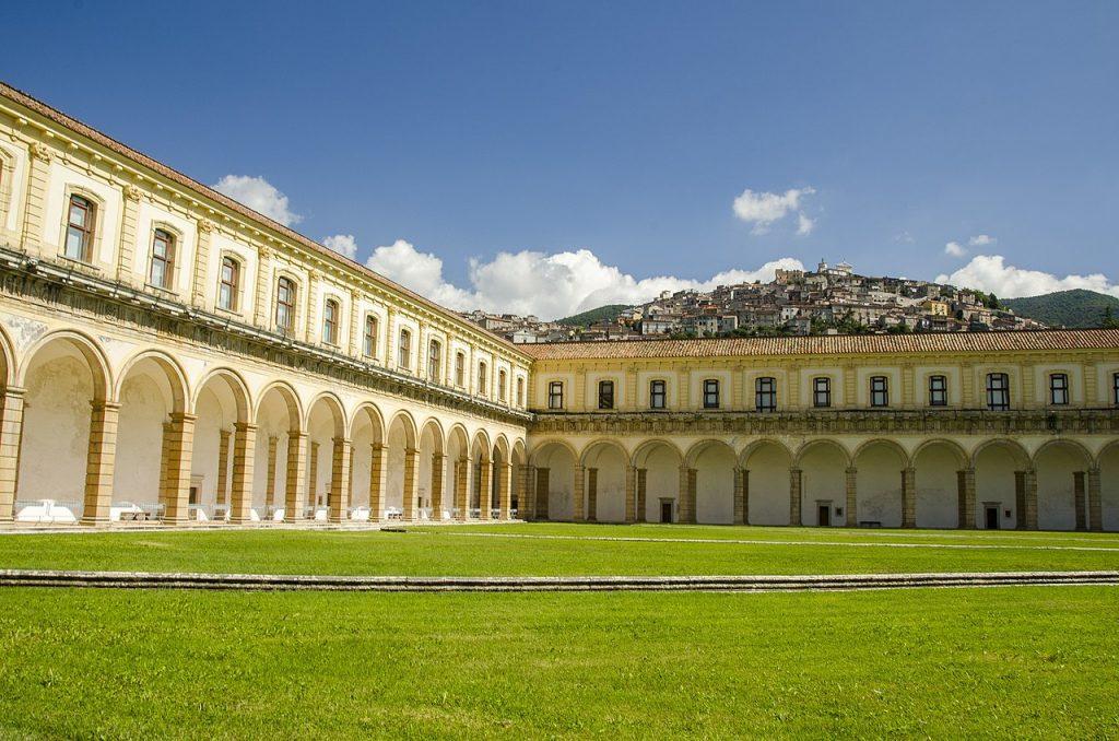 veduta della Certosa di San Lorenzo