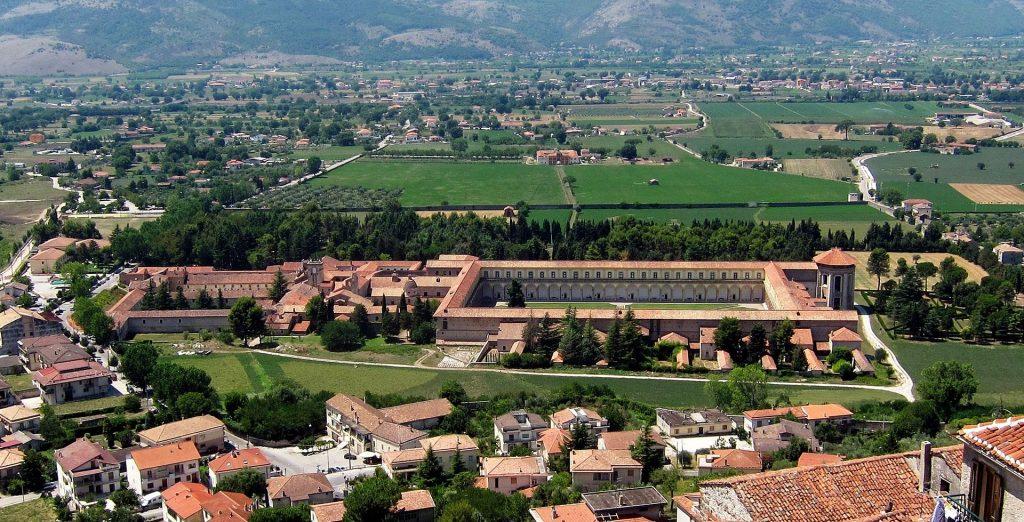 Certosa di San Lorenzo - Veduta dall'alto