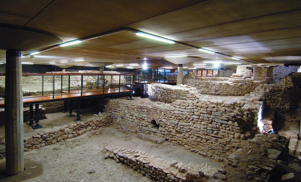 Area archerologica ipogea del Duomo di feltre