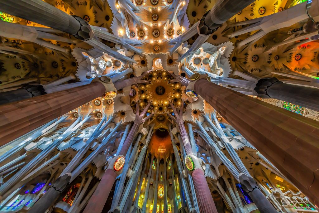 Ragazze italiane - Sagrada Familia