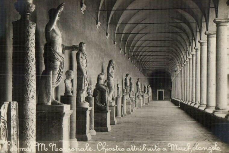 Museo Nazionale Romano - Chiostro di Michelangelo