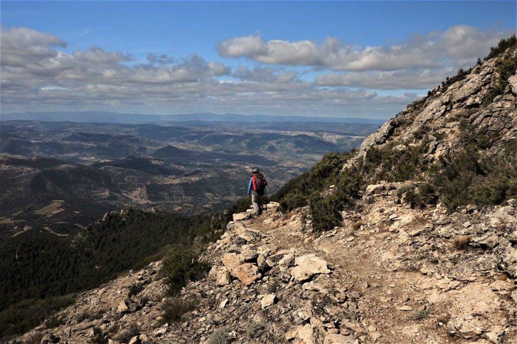 Sentiero Italia Cai - escursionista
