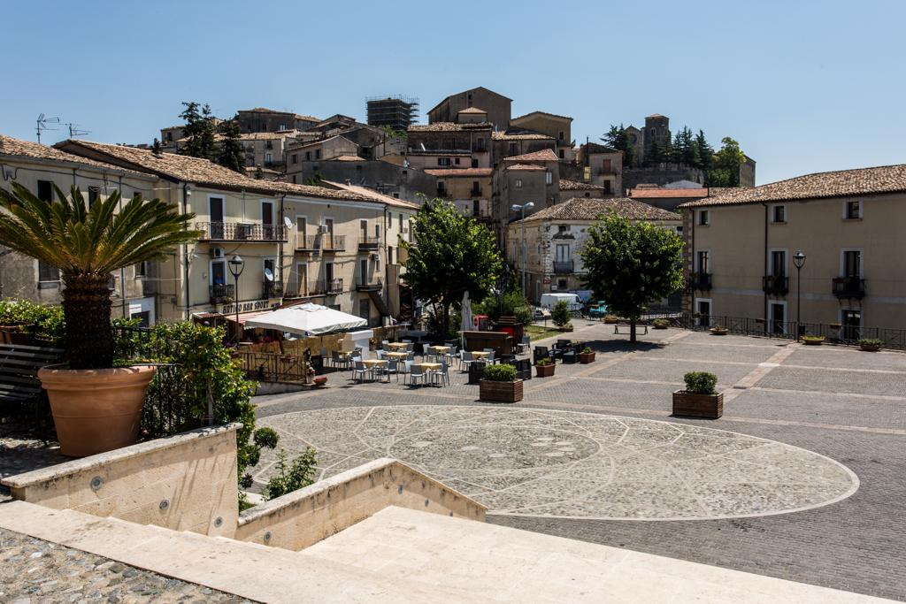 Piazza San Francesco - Altomonte