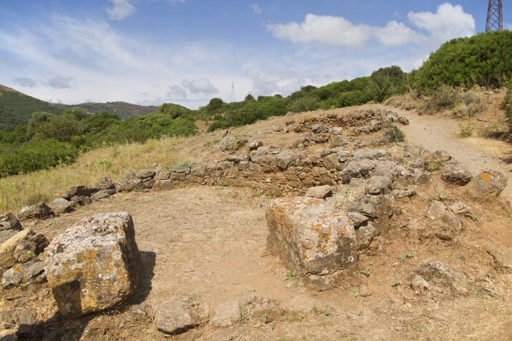 Tempio di Antas - Il villaggio nuragico
