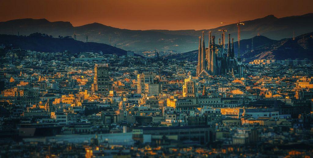 Ragazze italiane - Vista Barcellona