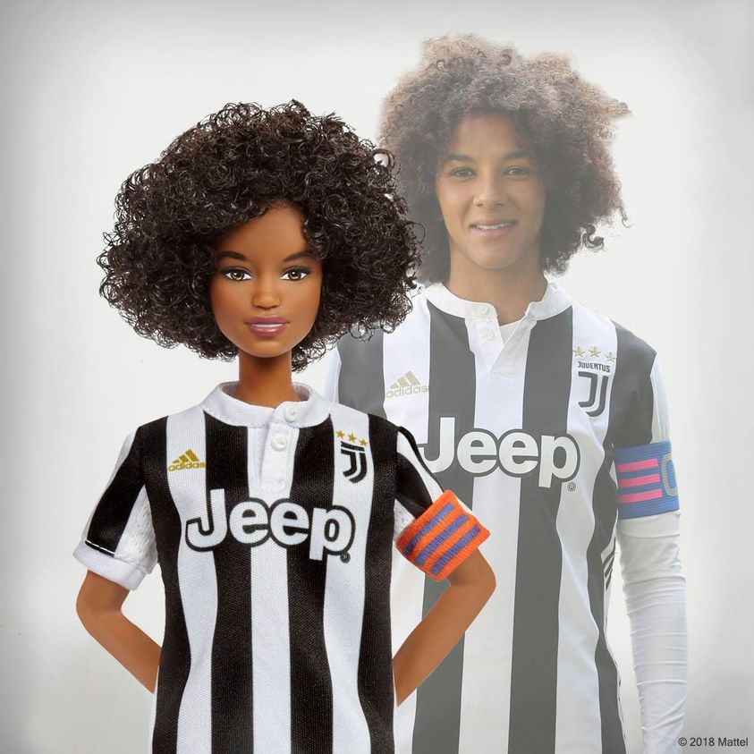 versione barbie versione Sara Gama