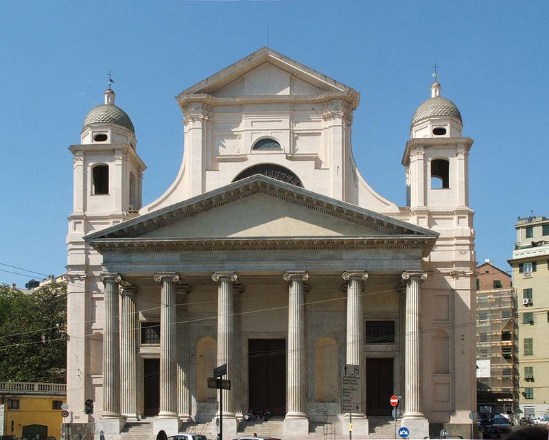 La chiesa dove si trovavano i due busti